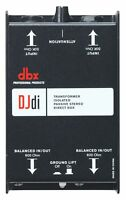 dbx DJD1 2-Channel Passive Direct Box