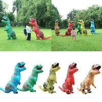 Inflatable Dinosaur Costume Jurassic Blow up Adults Outfit New Kids Christm R1U9
