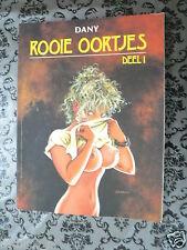 DUTCH COMIC ROOIE OORTJES DEEL 1 SEX GIRLS 1991 BOEMERANG