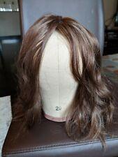 Unworn Flora European human hair topper/sheitel