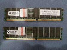 1GB (2x 512MB) PC-2100 DDR ECC Desktop Memory