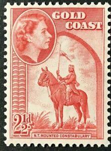 GOLD COAST Sc#152 1952 Q.ELIZABETH II Pictorial Mint NH OG VF/XF (15-135)