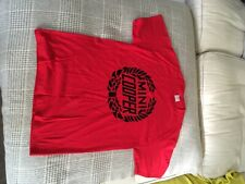 Mini Cooper T-Shirt Size M ( great condition).