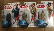 3 NEW Star Wars Force Link Action Figures  Hux Paige & Rose Hasbro Disney Toy