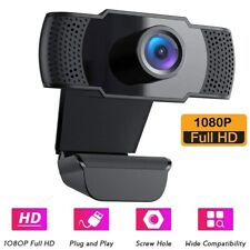 USB HD 1080P Camera Web Camera Rotation With Mic Clip-on for Android PC Meeting