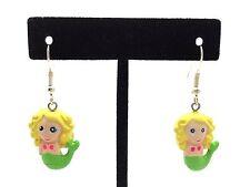 Cute Handmade Mermaid Earrings with Gift Box