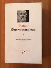 Platon - Œuvres complètes