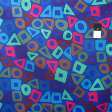 Brandon Mably PWBM057 Puzzle Cobalt Quilting Cotton Fabric By The Yard