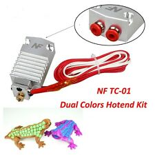 Multi-color Extruder 2 in 1 out Dual Color Switching Hotend Kit for 0.4mm 1.75mm