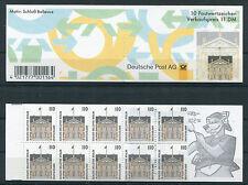 Federal MH 35 post frescos SWK markenheftchen BRD lugares de interés 1935 c + d mnh