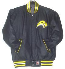 NHL Buffalo Sabres Wool Reversible Black Jacket JH Design