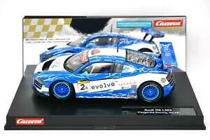 Carrera 23840 Audi R8 LMS Fitzgerald Racing No.2A w/ Lights 1/24 Slot Car
