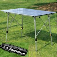 """35"""" Aluminum Folding Table Portable Outdoor Picnic Party Camping BBQ Tables NEW"""