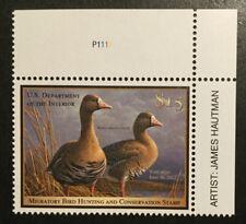TDStamps: US Federal Duck Stamps Scott#RW78 $15 Mint NH OG w/ Artist Name