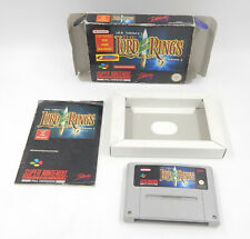 SNES / Super Nintendo - The Lord of the Rings Vol. 1 - PAL - Modul + Box + Anl.