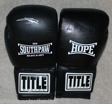 Southpaw Movie Title Official Pair Boxing Gloves Autographed Signed by Eminem