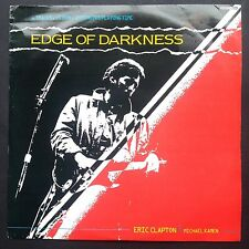 Rare! Eric Clapton Michael Kamen EDGE OF DARKNESS TV soundtrack OST EP 1985 BBC