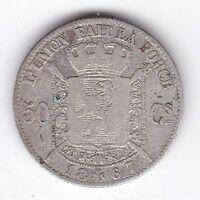 1867 Belgium 50 Centimes***Collectors***Silver***