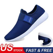 Men's Slip on Running Casual Sneakers Lightweitht Tennis Walking Athletic Shoes