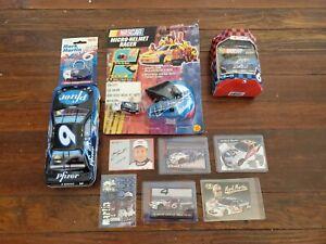 Mixed Lot of #6 Mark Martin Valvoline Items, Keychain, Christmas Ornament, Cars