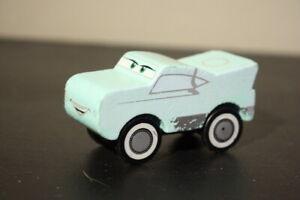 "DISNEY PIXAR CARS KIDKRAFT WOODEN  ""3 INCH CARS VHTF EUC Wood"