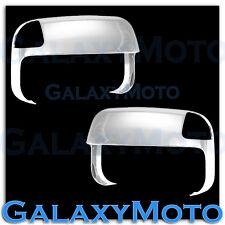 10-19 Dodge Ram 1500+2500+3500+HD Triple Chrome Top Half Tow Towing Mirror Cover