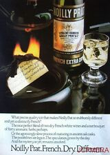 1978-9 NOILLY PRAT 'French Extra Dry' Vermouth Advert #4 - Original Print AD