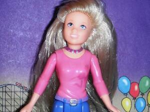 Fisher Price Loving Family Teen Doll wearing pink & blue blonde dollhouse
