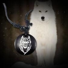 "20 pc Wholesale Wolf Necklace Animal Awareness Adjustable 14"" - 30"""