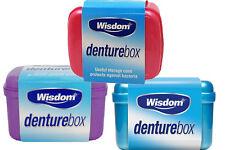6x Wisdom Denture Caja para almacenamiento Dentaduras Dental Funda dientes