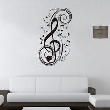 Rimovibile Vinile note musicali adesivi murali*decorazioni per pareti domestiche