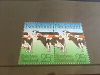 Netherlands koetje pair cow doorloper mnh stamps