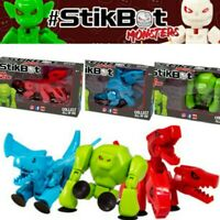 Stikbot Mega Monster Cerberus, Gigantus, Scorch Monsters Animation Action Toys