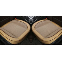 1Pair PU Leather Deluxe Car Cover Seat Protector Cushion  Front Cover Universal
