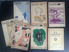 Lot de 8  revues SAHI scout scoutisme TBE