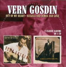 VERN GOSDIN - OUT OF MY HEART/NICKELS & DIMES & LOVE * NEW CD