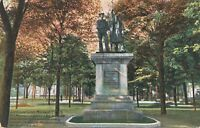 ERIE PA – Soldiers and Sailors Monument - 1907