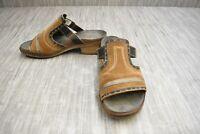 **Naot Nifty Slide Sandal - Women's Size 7/EU 38 - Brown