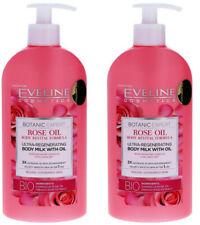 2x Eveline Cosmetics Botanic Expert Körpermilch,Rose Oil,350ml NEU