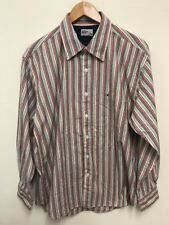 Hilfiger Denim Tommy Hilfiger Multi Colour Stripe Casual Long Sleeve Shirt Large