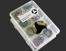 Proto Rail Series 3x color coded o-ring rebuild kit by Flasc Paintball