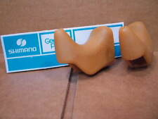 New-Old-Stock Shimano Brake Lever Hoods w/o Extension Cut-outs (Non-Aero)..Brown