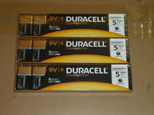18 Pcs. NEW 9 Volt 9V 9 V Duracell Coppertop Batteries Exp 2020 RETAIL PACKAGING