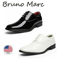Bruno Marc Men's Classic Oxford Dress Shoes Formal Lace Up Loafer Shoes