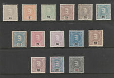 [Portugal 1895/1896 - King Carlos I first issue] complete set in great condition
