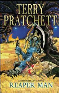 Reaper Man: (A Discworld Novel) by Pratchett, Terry Paperback Book The Fast Free