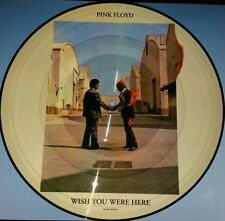 "PINK FLOYD WISH YOU WERE HERE PICTURE DISC 12"" VINYL LP NEW IMPORT DIECUT JACKET"