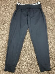 Women's Under Armour Active Wear Jogger Pant Teal With Pockets Large L