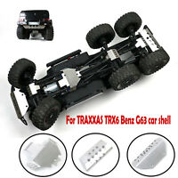 Front Rear Anti-collision Guard Plate Set for TRAXXAS TRX6 Benz G63 RC Car Truck