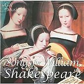 Songs for William Shakespeare SEALED